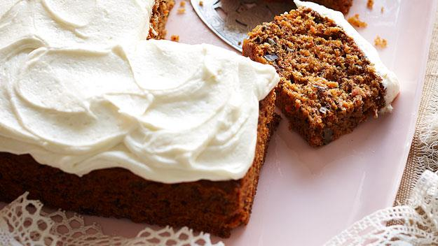 """This [easy carrot cake](https://www.womensweeklyfood.com.au/recipes/julies-carrot-cake-14987