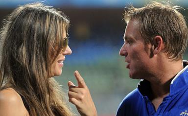 Shane Warne talks about sex with Liz Hurley