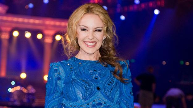 Kylie Minogue comes to town