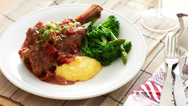 "Slow cooker lamb shanks. [Click here for the recipe](http://www.foodtolove.com.au/recipes/slow-cooker-lamb-shanks-14403.|target=""_blank"")."