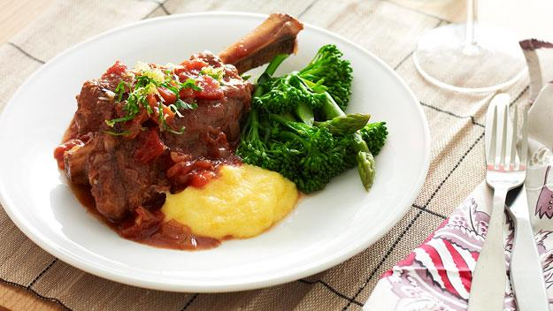 """Slow cooker lamb shanks. [Click here for the recipe](http://www.foodtolove.com.au/recipes/slow-cooker-lamb-shanks-14403.