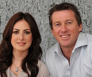 Glenn McGrath's new wife on bonding with Jane's kids