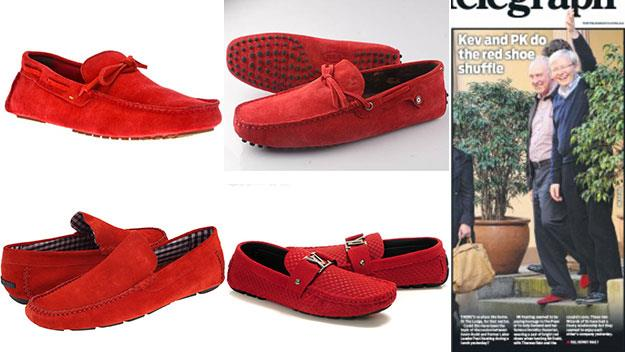 Why every man needs a pair of Paul Keating's ruby slippers