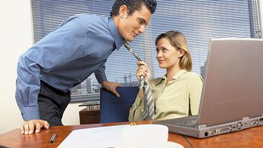 How not to lead men on in the workplace