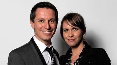 Rove McManus's baby news with wife Tasma Walton