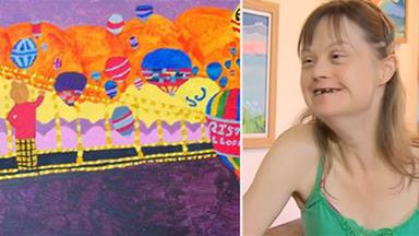 Painting by artist with Down syndrome picked for royal nursery