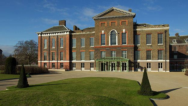 Kensington Palace: the home of Prince William and Duchess Catherine.