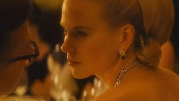 Nicole Kidman as Grace Kelly.