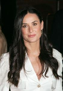 Demi Moore was the ultimate 90's Hollywood starlet and still looks every inch the sex goddess she was back then. In 2005 she married actor Ashton Kutcher, who at 30 years old is 15 years her junior.