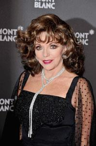 British actress and published author, Joan Collins is now 74 years old and in enviable shape. She is currently the face of skincare company Cellex-C's Ageless 15 Skin Serum.