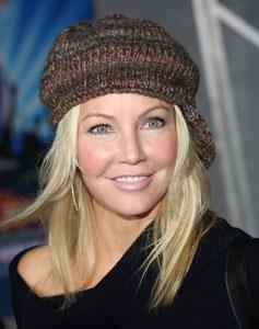 At 46, Heather Locklear is in terrific shape and still very much a hot TV star in the US. Her most notable television role was as Sammy Jo Carrington in the 1980's soap opera *Dynasty*.