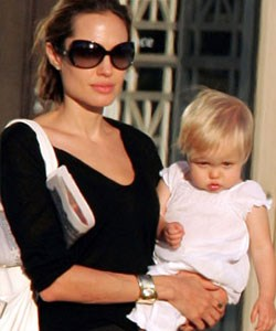 After famously claiming that she would be happy to never have biological children of her own, Angelina gave birth to daughter Shiloh Nouvel with partner, Brad Pitt in 2006.