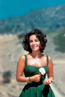 Elizabeth Taylor in 1959, aged 27.  Photos from *Elizabeth Taylor A Life in Pictures* by Yann-Brice Dherbia, published by Pavilion books