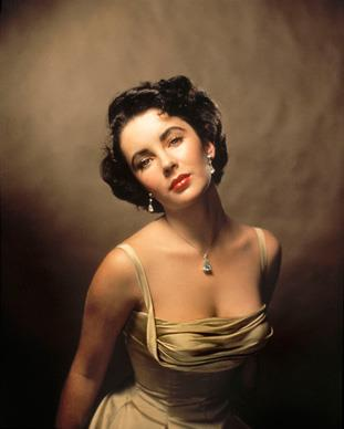 Liz poses for the cover of *Life* magazine in 1948 when she was just 16 years old. She had made her movie debut at the age of 10 in *There's One Born Every Minute*, in 1942.  Photos from *Elizabeth Taylor A Life in Pictures* by Yann-Brice Dherbia, published by Pavilion books