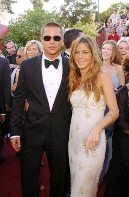 Brad and Jen were often the stars of the show and America's favourite couple. Fans all over the world were devestated when their relationship came to an end. Here they grace the red carpet at the 56th Annual Primetime Emmy Awards.
