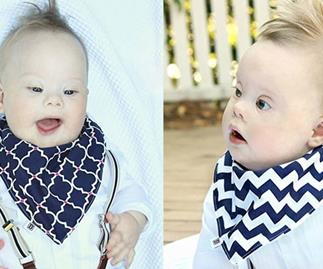 To you, he's a Down syndrome baby - to me he's just perfect