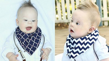 To you, he's a Down syndrome baby - to me, he's just perfect