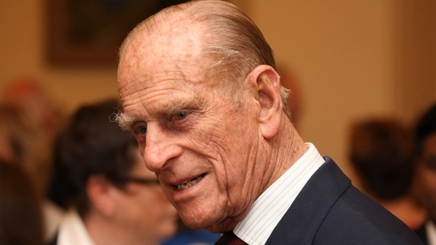 Prince Philip's infamous wit surfaces again