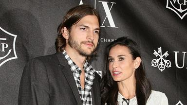 Demi Moore files for divorce