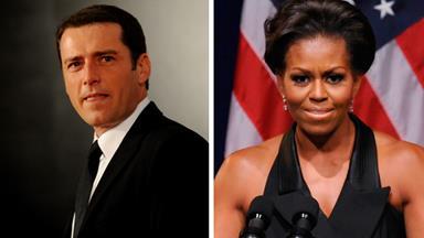 Karl Stefanovic channels Michelle Obama in weird video