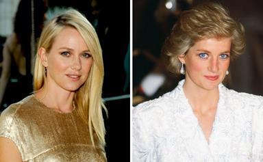 Naomi Watts 'terrified' of playing Princess Diana