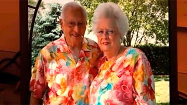 Matching outfits the secret to couple's 65-year marriage