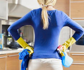 Women still doing more housework, not happy about it