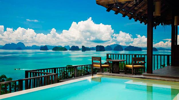 Six Senses resort and spa on Koh Yao Noi.