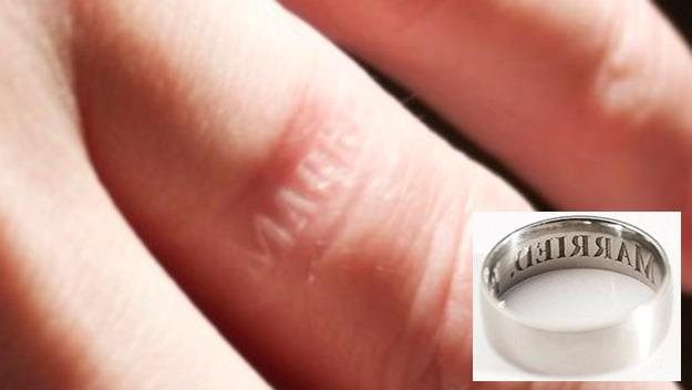 Anti-cheating wedding ring goes on sale