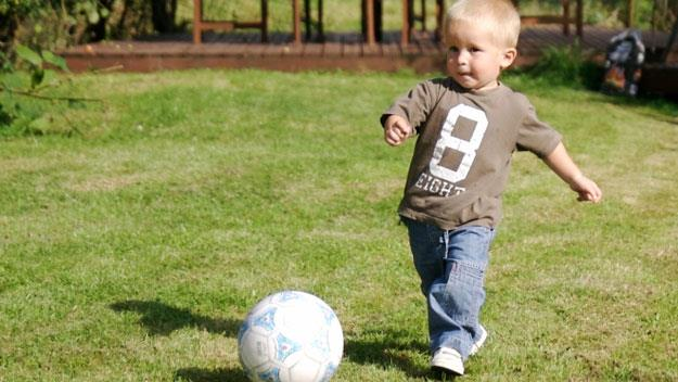 Most kids can't run, throw and jump
