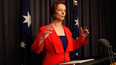 Julia Gillard defends 'sexist' slush fund claims
