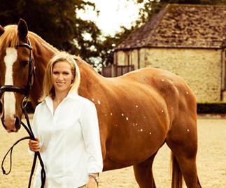 Zara Phillips with her favourite horse, Toytown.