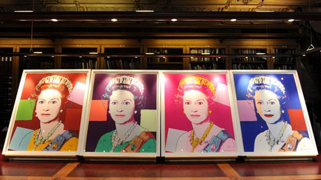 Queen buys Andy Warhol portrait of herself