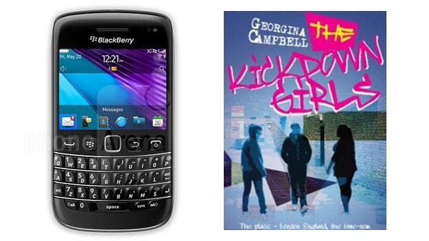 Woman writes novel on smart phone
