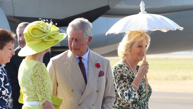 Charles and Camilla visited Australia in 2012.