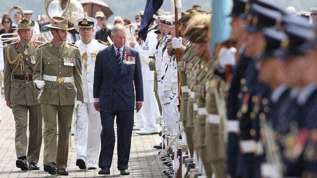 On their visit, Charles and Camilla visited Sydney Harbour.