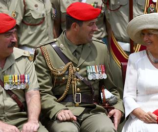The Duchess becomes a colonel