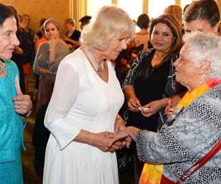 Camilla campaigns for women's rights