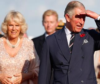 Charles and Camilla farewell Sydney with exclusive dinner