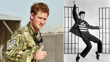 Prince becomes the King: Harry nicknamed 'Elvis'