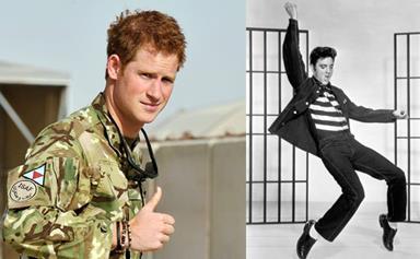 Prince becomes the King: Harry nicknamed 'Elvis'