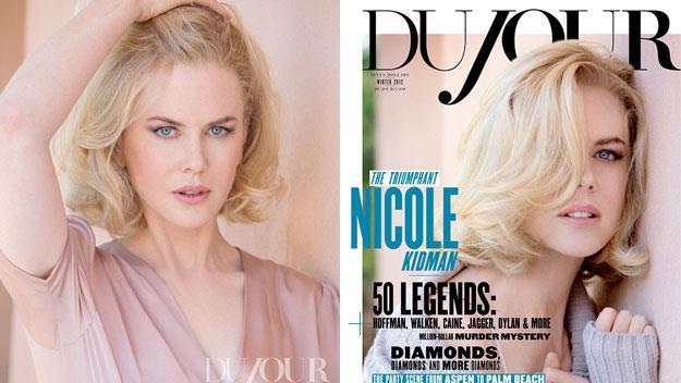 Nicole Kidman in DuJour magazine.