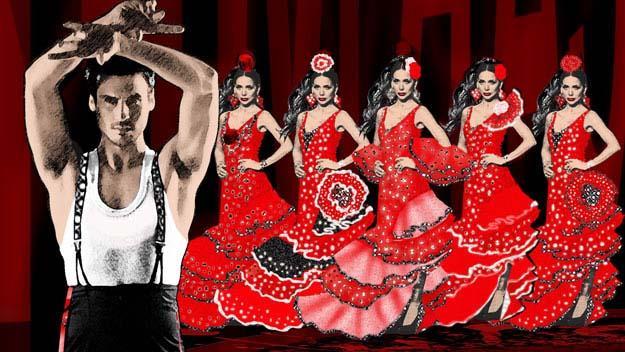 Sydney's Carmen performance salsa dancing