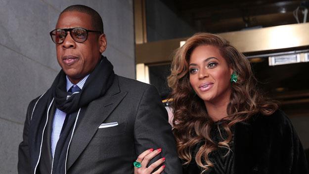 Beyonce and husband Jay-Z