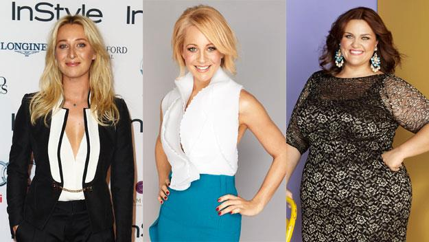 Asher Keddie, Carrie Bickmore and Chrissie Swan