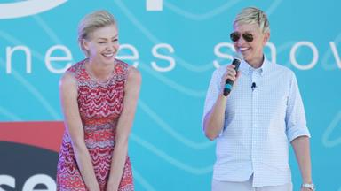 Ellen Degeneres' interview about wife, Portia de Rossi