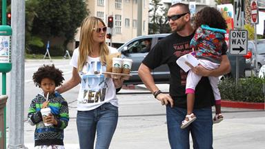 "Heidi Klum: ""I pay my kids to eat healthy food"""