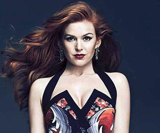 Isla Fisher in FASHION magazine