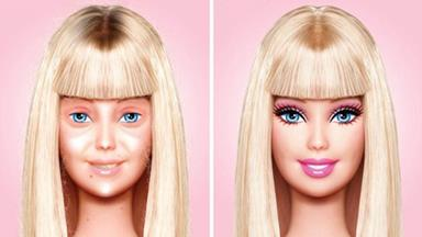 Picture of Barbie without makeup goes viral