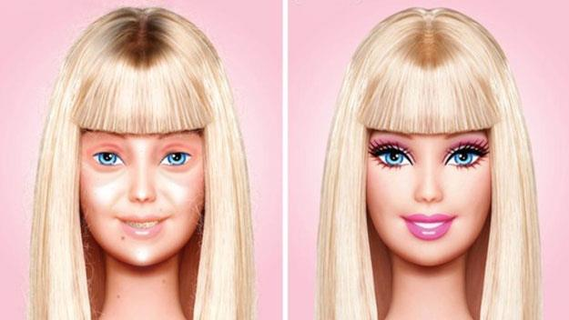 Barbie without makeup picture goes viral
